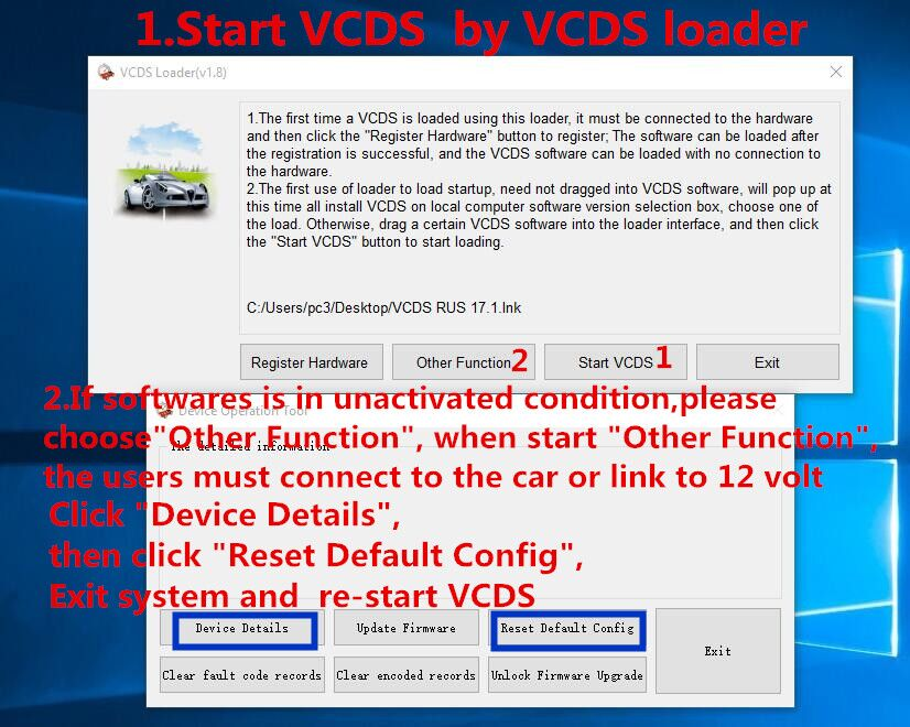 100% same functions with original VCDS multi-language VCDS 17 8 VAG